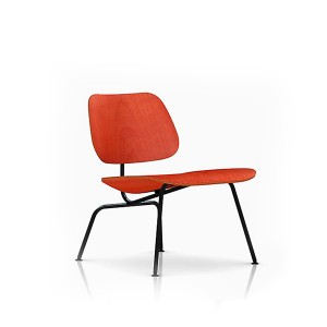 Eames Molded Plywood Lounge Chair, Metal base, LCM.11