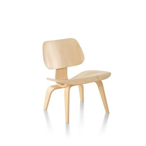Eames Molded Plywood Lounge Chair, Wood base, LCW.A2